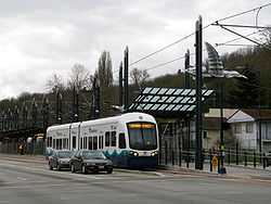 Rainier Beach Station:  easy to access from a bus stop