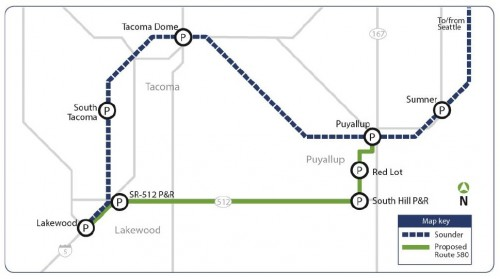 Proposed Route 580
