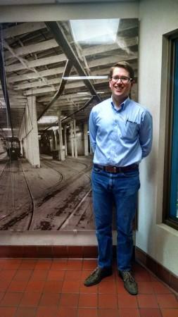 Karl Otterstrom at Spokane Transit HQ