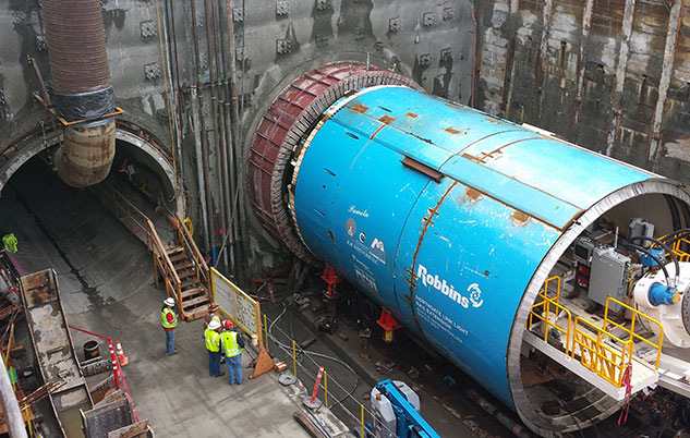 Pamela at Northgate (Sound Transit Photo)