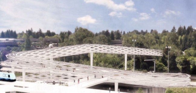 Northgate Pedestrian Bridge Concept