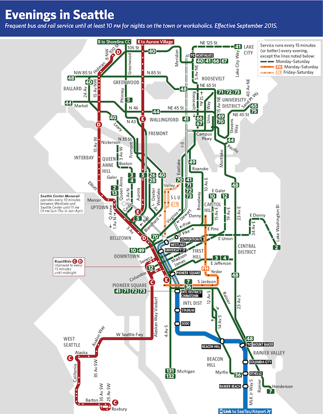 Seattle Frequent Network Maps Preview Sept 2015