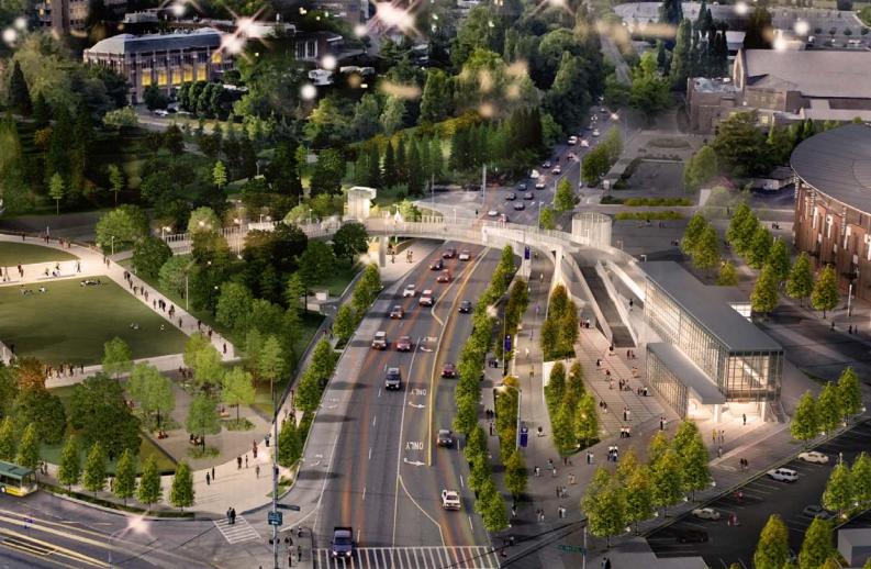UW Station rendering