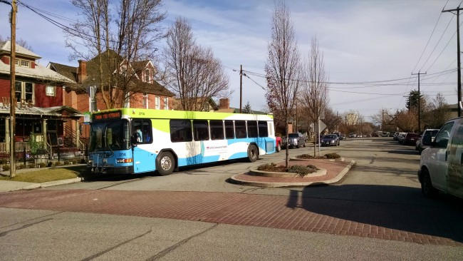 STA Bus in Browne's Addition