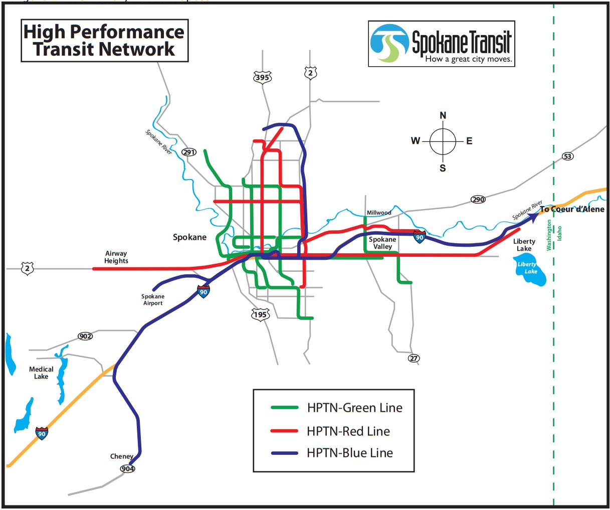 Seattle Transit Blog discusses STAs high performance transit plan