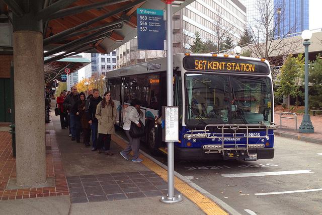 Bellevue Transit Center (Dan Reed – Flickr)