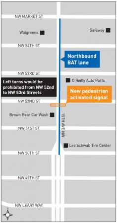 Ballard BAT lane