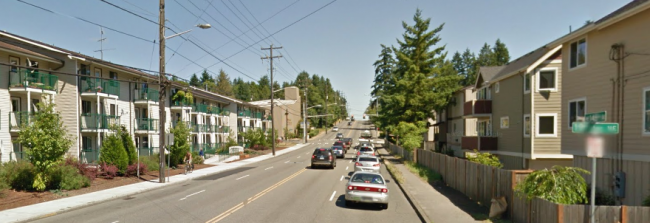 North 145th St, Shoreline (Google Street View)