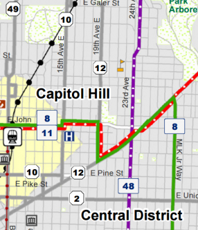 capitol hill map