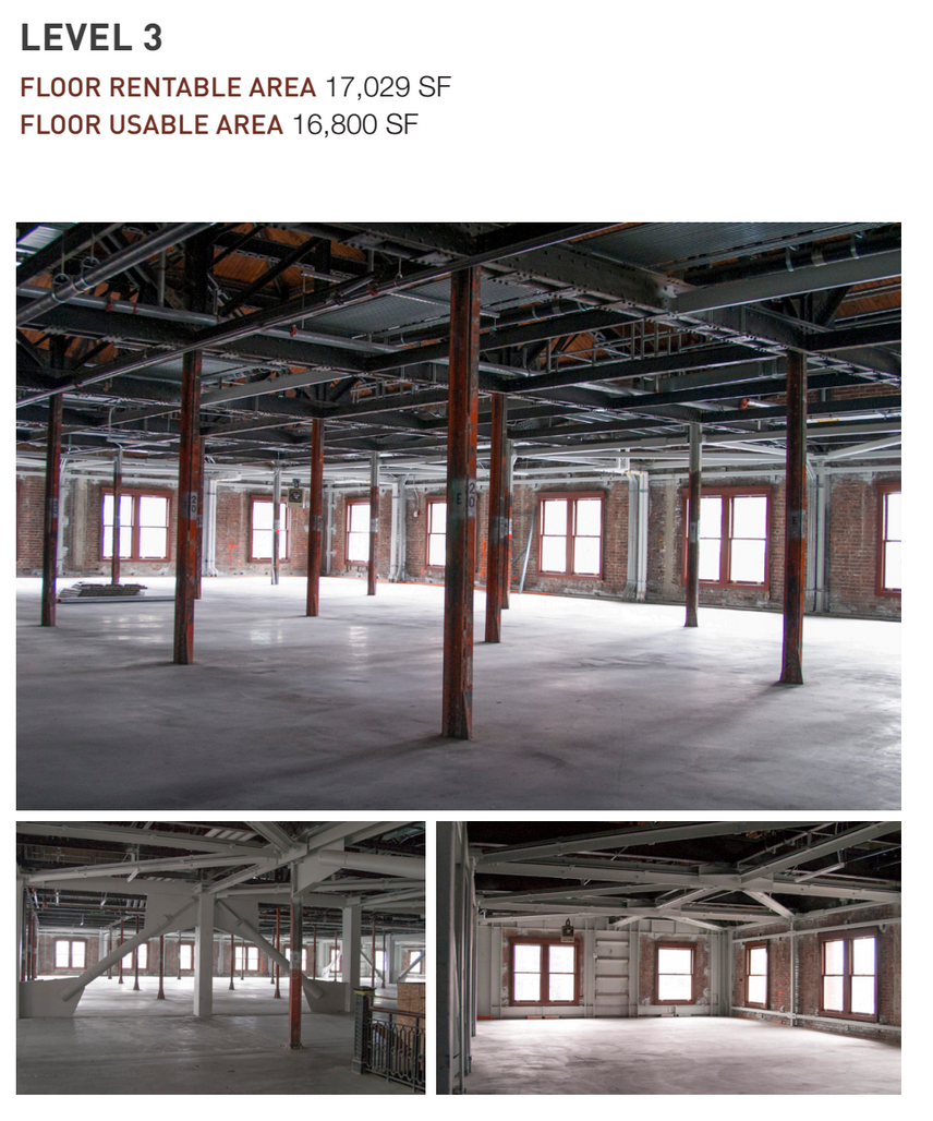 3rd Floor of King Street Station – SDOT Photo