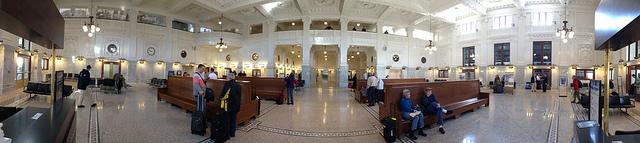 King Street Station Interior – Photo by Gordon Werner