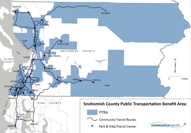 Community Transit Benefit Area