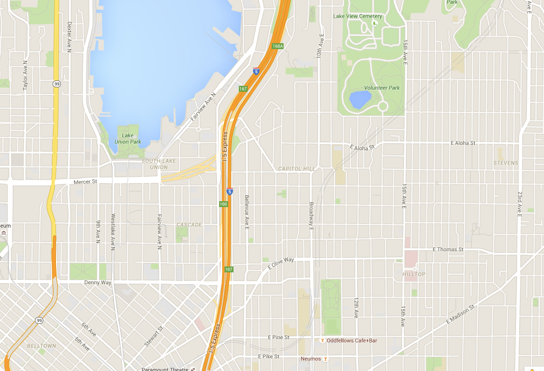 U-Link Now on Google Maps – Seattle Transit Blog