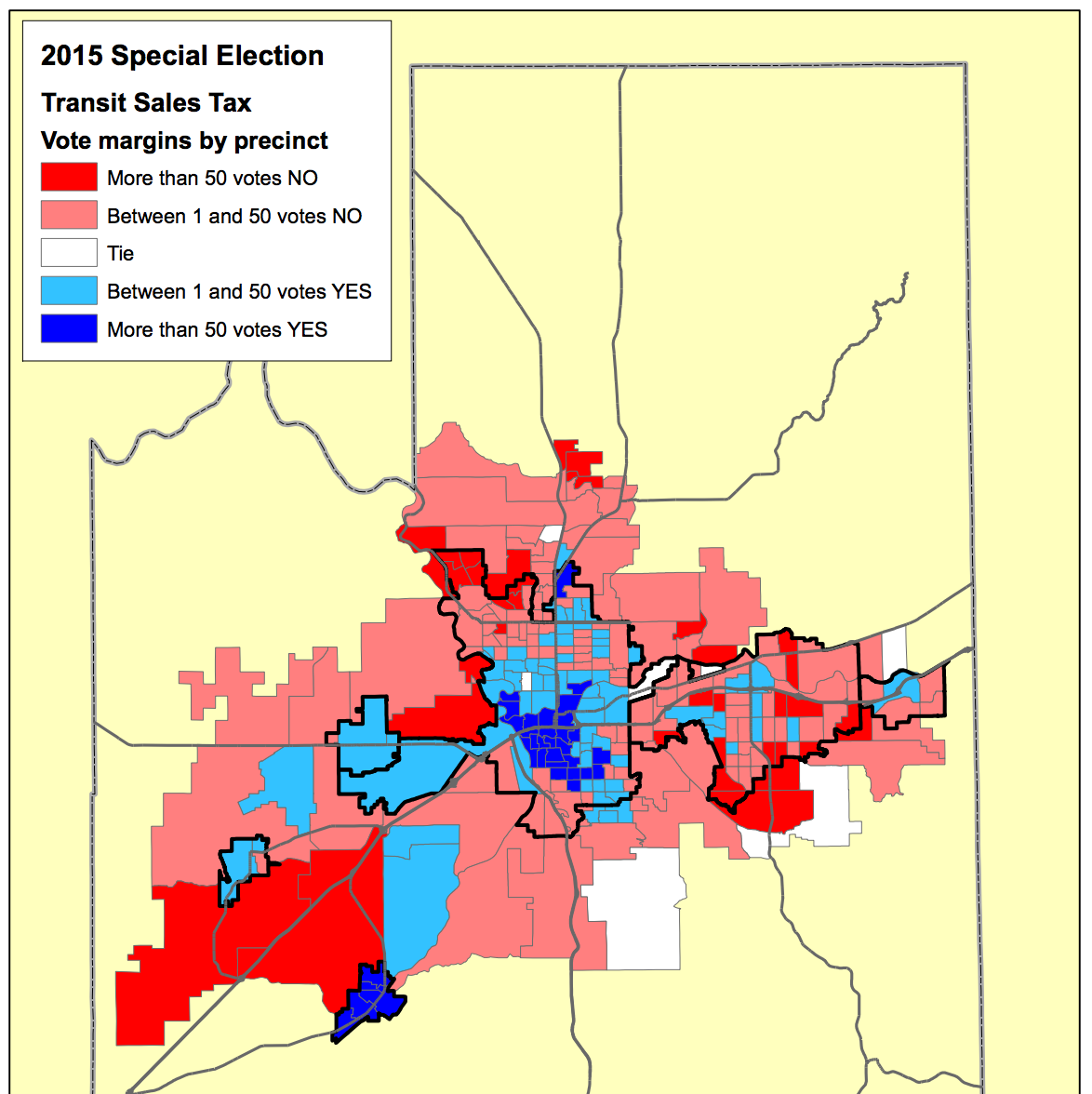 Precinct-level results from the 2015 STA Moving Forward Vote (courtesy Spokesman Review)