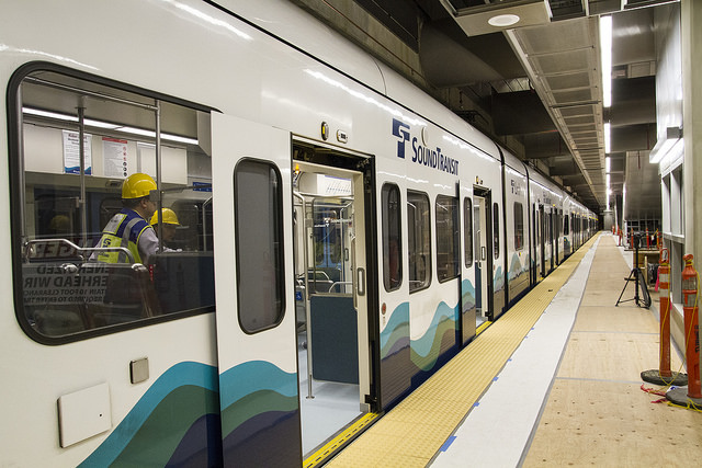 4-Car Train at Capitol Hill Station (Sound Transit – Flickr)