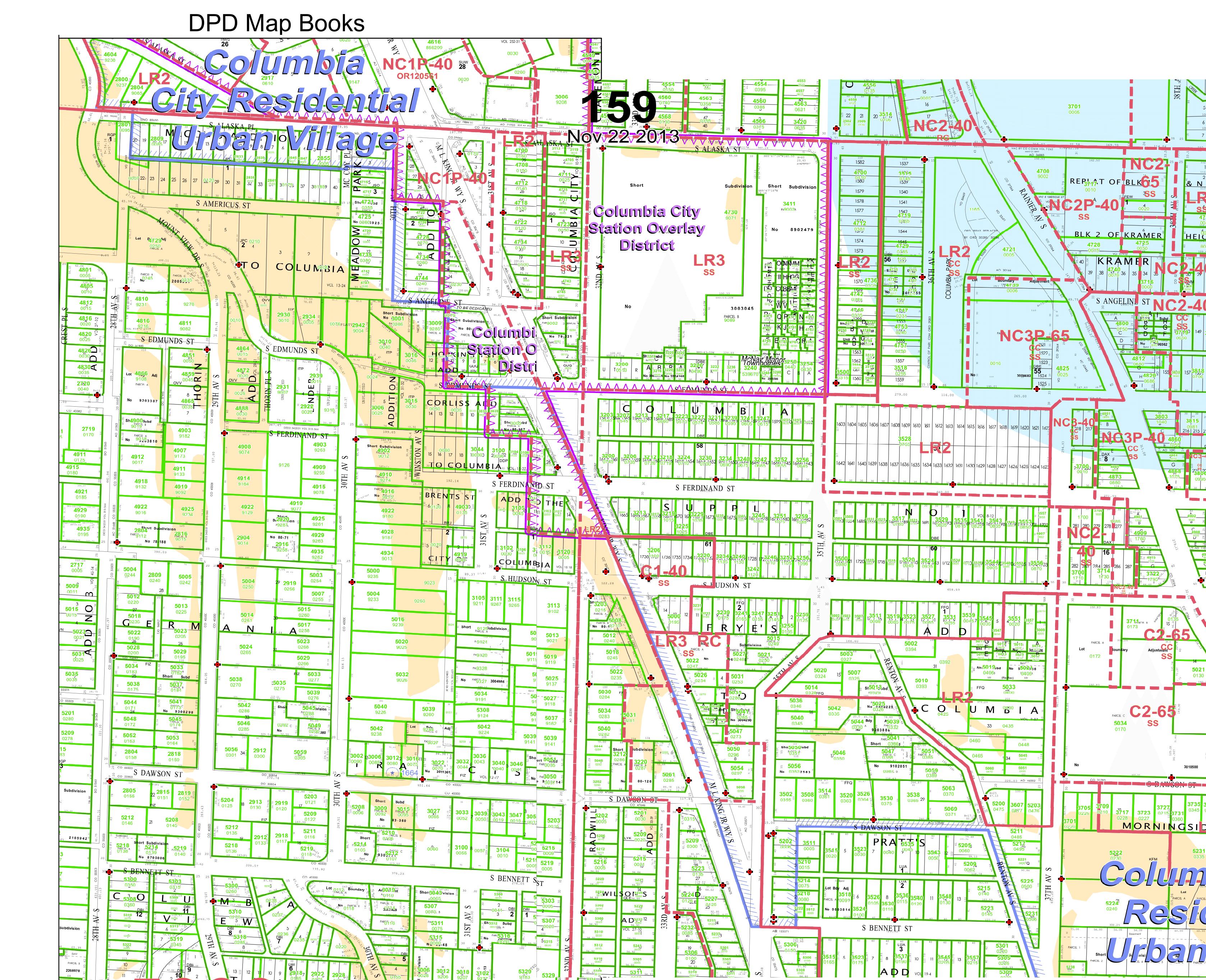 Columbia City Zoning – Seattle Transit Blog