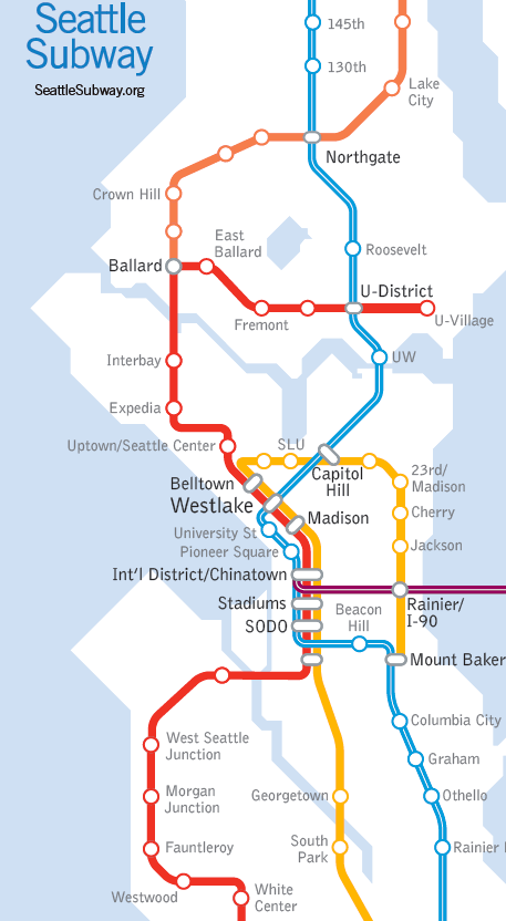 Seattle Subway's Recommendations for the Sound Transit 3 Survey