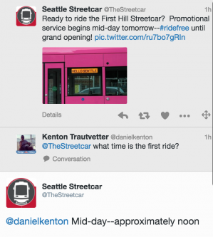 First Hill Streetcar Launches January 23 – Seattle Transit Blog