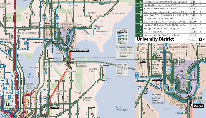 Preview of the Seattle Transit Map #Bus2Link Edition – Seattle