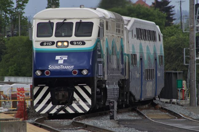 Sounder loco 910 at TDS