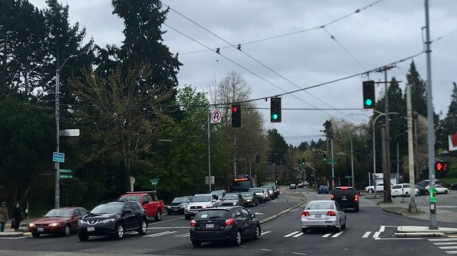 Montlake Blvd and SR-520