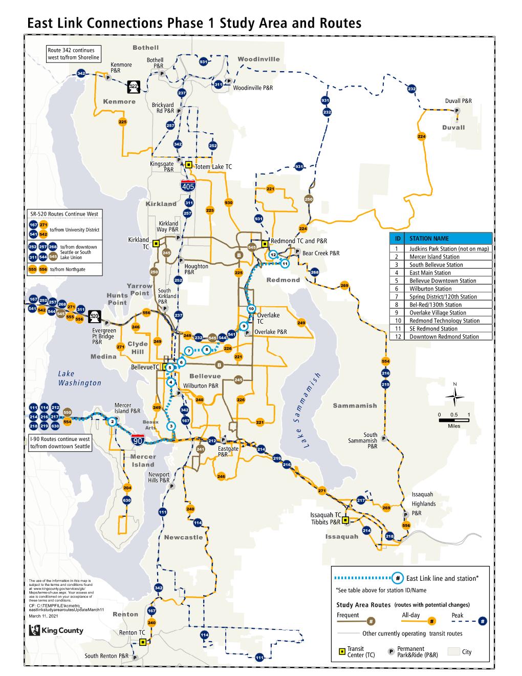 Eastside transit restructure kicks off